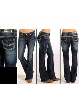 Rock and Roll Cowgirl Women's Rock & Roll Cowgirl Low Rise Jean W6-4487