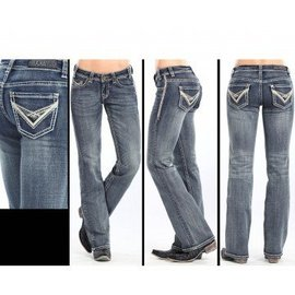 Rock and Roll Cowgirl Women's Rock & Roll Cowgirl Riding Jean W7-3643