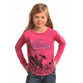 Rock and Roll Cowgirl Girl's Rock & Roll Cowgirl T-Shirt G4T5605 C5