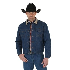 Wrangler Men's Wrangler Blanket Lined Denim Jacket 74260PW