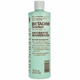 Veterinary BETADINE SOLUTION 16 OZ. 16314144