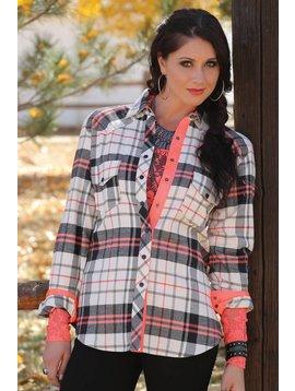 Cruel Girl Women's Cruel Girl Snap Front Shirt CTW9359003