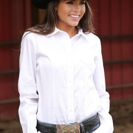 Cinch Women's Cinch Button Down Shirt MSW9164026-WHT