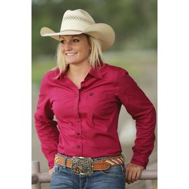 Cinch Women's Cinch Button Down Shirt MSW9164019-RED