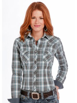 Panhandle Women's Rough Stock Snap Front Shirt R4S9298