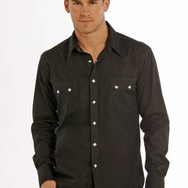 ROCK&ROLL COWBOY Men's Rock & Roll Cowboy Snap Front Shirt B2S9063