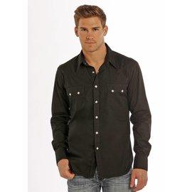 ROCK&ROLL COWBOY Men's Rock & Roll Cowboy Snap Front Shirt B2S9063
