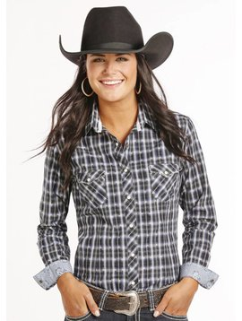 Panhandle Women's Rough Stock Snap Front Shirt R4S8019