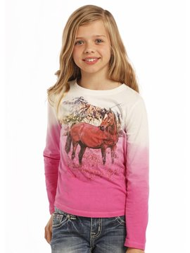 Rock and Roll Cowgirl Girl's Rock & Roll Cowgirl T-Shirt G4T9377
