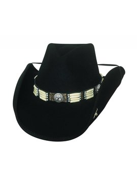 Bullhide Bullhide Lakota Wool Hat 0749BL