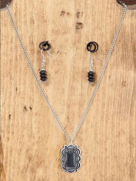 West & Co. West & Co. Necklace Set N985BLK