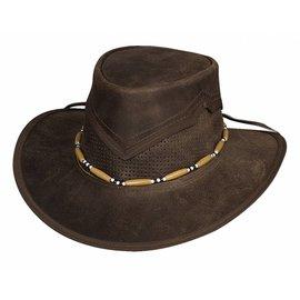 Bullhide Bullhide Kanosh Leather Hat 4049DBR
