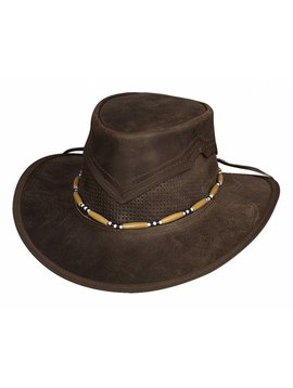 Bullhide Bullhide Kanosh Leather Hat 4049DBR