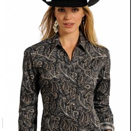 Panhandle Women's Rough Stock Snap Front Shirt R4S4214