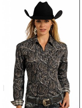 Panhandle Women's Rough Stock Snap Front Shirt R4S4214