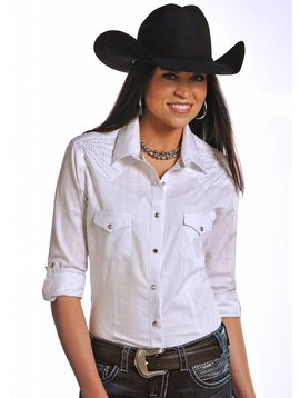 Panhandle Women's Rough Stock Snap Front Shirt R4S5161