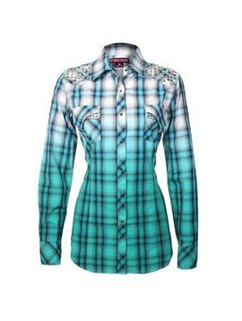 Rock and Roll Cowgirl Women's Rock & Roll Cowgirl Snap Front Shirt B4S9377