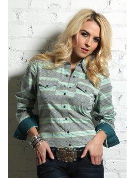 Cruel Girl Women's Cruel Girl Snap Front Shirt CTW9388003