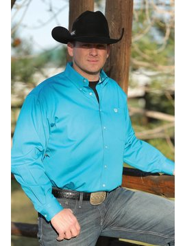 Cinch Men's Cinch Button Down Shirt MTW1103800-TEA