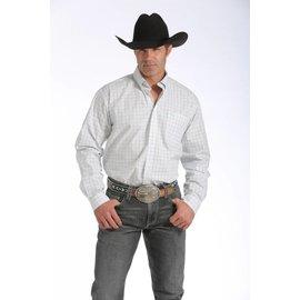 Cinch Men's Cinch Button Down Shirt MTW1104072-WHT
