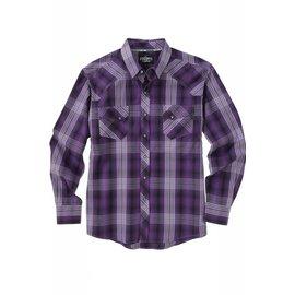 Cinch Men's Garth Brooks Sevens by Cinch Snap Front Shirt HTW4001001-PUR