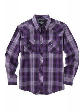 Cinch Men's Garth Brooks Sevens by Cinch Snap Front Shirt HTW4001001-PUR