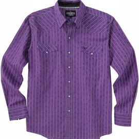 Cinch Men's Garth Brooks Sevens by Cinch Snap Front Shirt HTW4002001-PUR