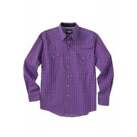 Cinch Men's Garth Brooks Sevens by Cinch Snap Front Shirt HTW4002001-PUR
