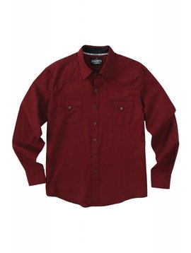 Cinch Men's Garth Brooks Sevens by Cinch Snap Front Shirt HTW4002002-BUR