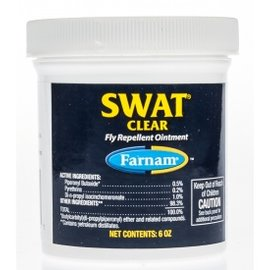 Farnam FARNAM SWAT CLEAR FLY REPELLENT OINTMENT 6OZ 12302