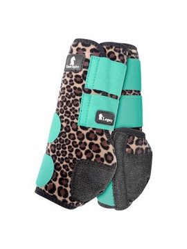 Classic Equine CHEETAH MINT LEGACY SYSTEM FRONT SPLINT BOOTS