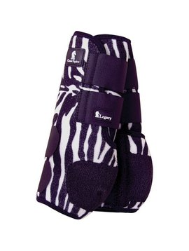 Classic Equine BLACK ZEBRA LEGACY SYSTEM HIND SPLINT BOOTS