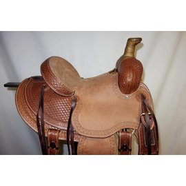 "Chino Tack Chino Tack Mod. Assoc. Tooled 11"" Saddle"