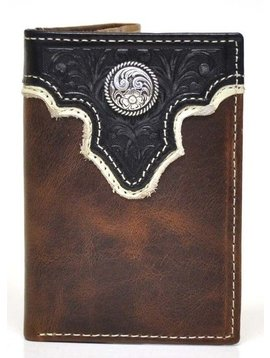 Ariat Men's Ariat Tri-Fold Wallet A35106129