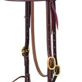 Weaver WEAVER LEATHER BRASS HARNESS BROWBAND HEADSTALL