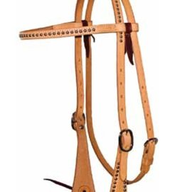 Courts COURTS SILVER DOT BROWBAND HEADSTALL 100-81009
