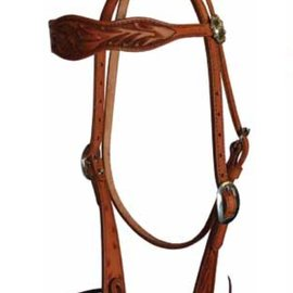 Courts COURTS FLORAL TOOLED BROWBAND HEADSTALL 100-63986