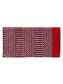 American Heritage Equine AHE DOUBLE WEAVE 32X64 206 RED/BLACK/NATURAL