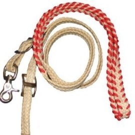 "Supreme Rodeo Products Supreme- 3/4"" B' Wax Roping Rein Laced Hand 57-8A"