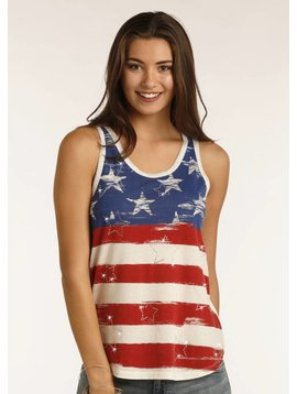 Rock and Roll Cowgirl Women's Rock & Roll Cowgirl Tank 49-2110