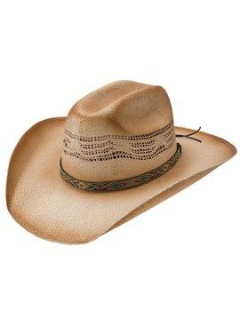 Charlie 1 Horse Charlie 1 Horse Hog Wash Straw Hat CSHGWH-7436