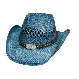 Bullhide Bullhide Wild and Blue Straw Hat 2841