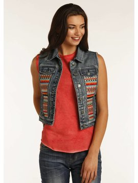 Panhandle Women's Rock & Roll Cowgirl Vest 58-2348