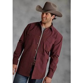 Roper Men's Roper Snap Front Shirt 03-001-0765-0107RED