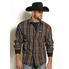 POWDER RIVER OUTFITTERS Men's Powder River Snap Front Shirt 36S4965