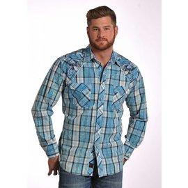 Panhandle Men's 90 Proof Snap Front Shirt V6S4827