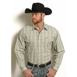 POWDER RIVER OUTFITTERS Men's Powder River Snap Front Shirt 36S4972