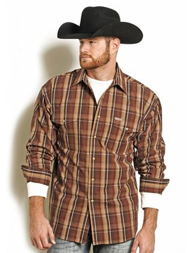 POWDER RIVER OUTFITTERS Men's Powder River Snap Front Shirt 36S4961