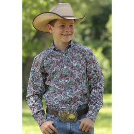 Cinch Boy's Cinch Button Down Shirt MTW7060158