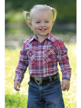 Cinch Toddler Girl's Cruel Girl Snap Front Shirt CTW3351001